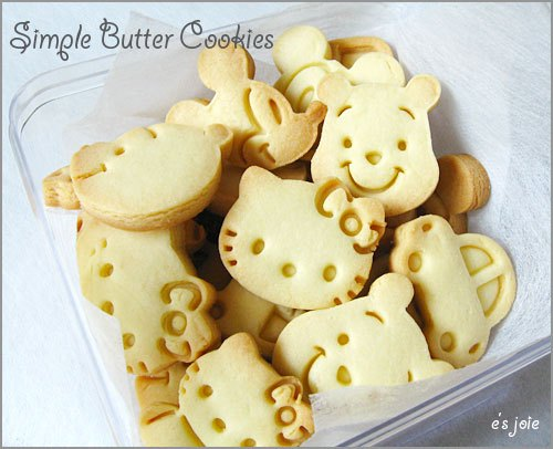 disney-butter-cookies