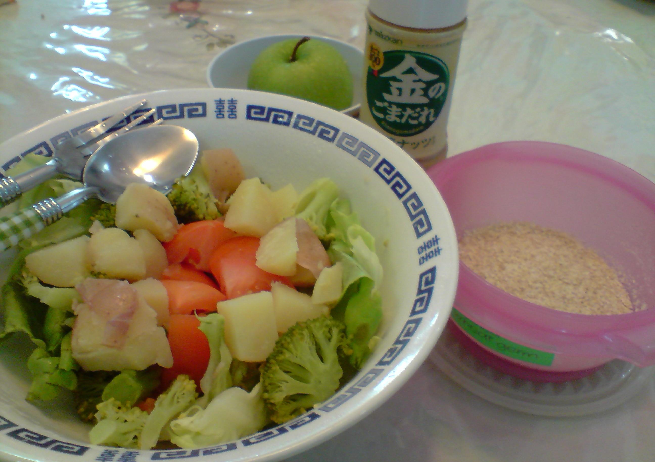 how to make japanese sesame dressing for salad